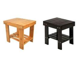 Bamboo Children Bench Safe Home Shoe Stool Storage Accent Ha