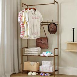 Entryway Coat and Shoe Rack with Seat Shoe Storage Bench Hal