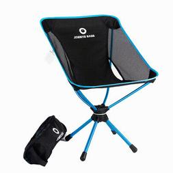 Folding Chair Outdoor Camping Picnic Stool Seat With Storage