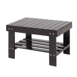 High Grade Wooden Bamboo Child Bench Safe Stool Storage Home