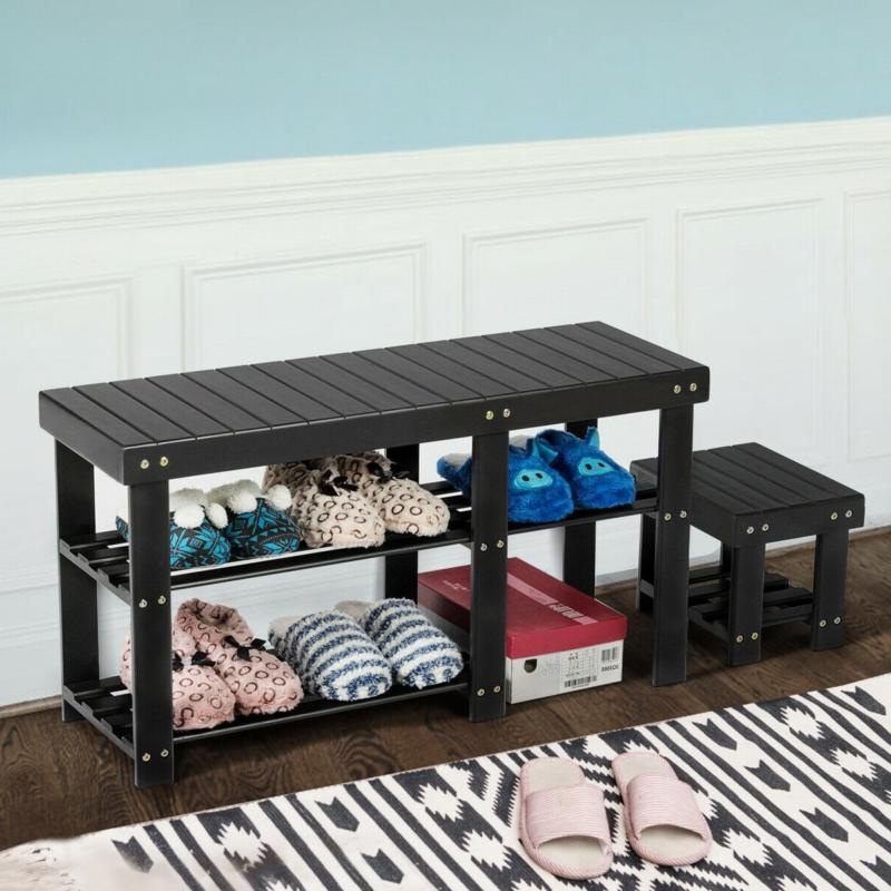 3-Tier Rack Bench Organizer