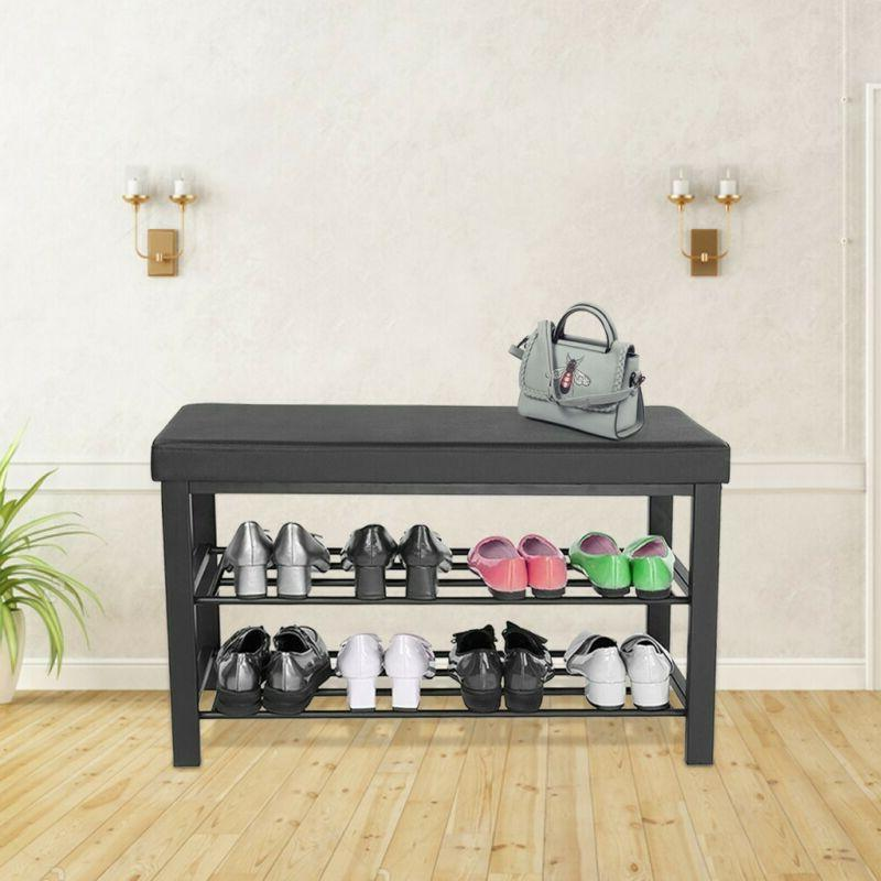 3-Tier Bench For Organizer Padded Seat