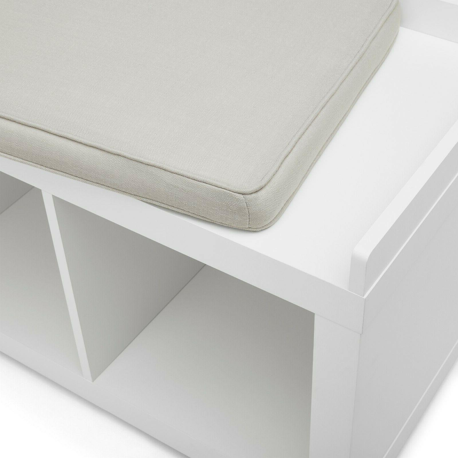 Entryway Storage Bench Sitting Upholstered