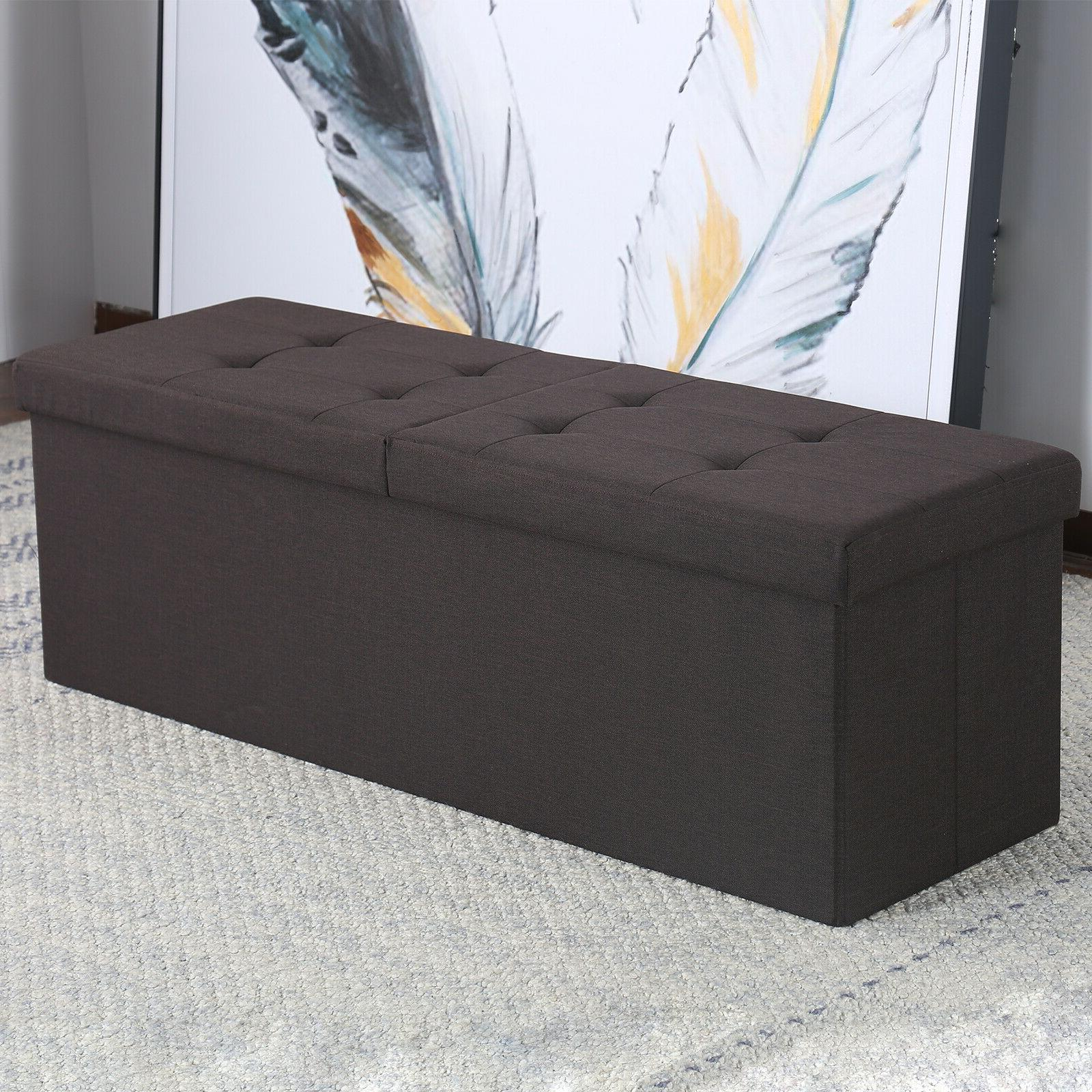 Faux Leather Chest Coffee Tabl