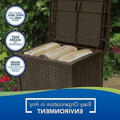 Outdoor Bench with Gallon