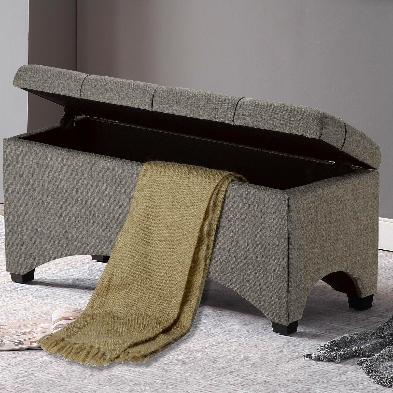 Tufted Coffee Bench Upholstered