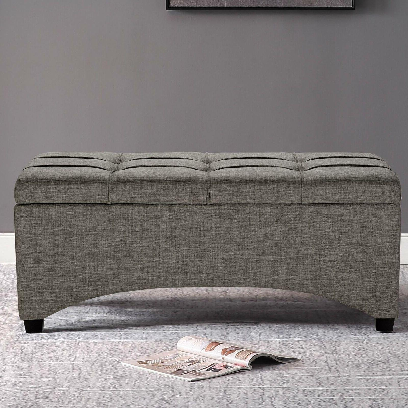 tufted ottoman coffee table entryway end of