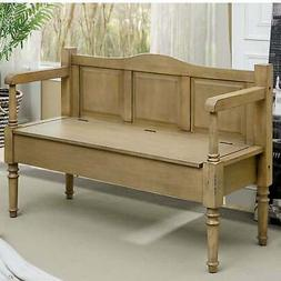 Mimi Transitional Entryway Storage Bench by FOA