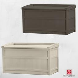 Outdoor 50 Gallon Container Resin Deck Storage Durable Box B