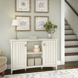 Storage Benches for Entryway Cabinet with Doors Antique Whit